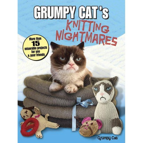 Grumpy Cat's Knitting Nightmares - (Dover Knitting, Crochet, Tatting, Lace) (Paperback) - image 1 of 1