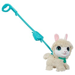 FurReal Friends Walkalots Big Wag Trend Pet Llama