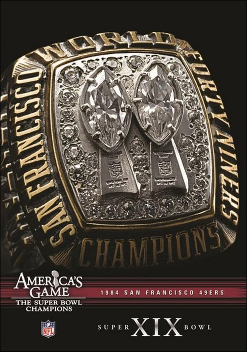 Nfl America's Game:1984 49ers (DVD) - image 1 of 1