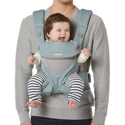 Ergobaby 360 Cool Air Mesh Baby Carrier - Sea Mist