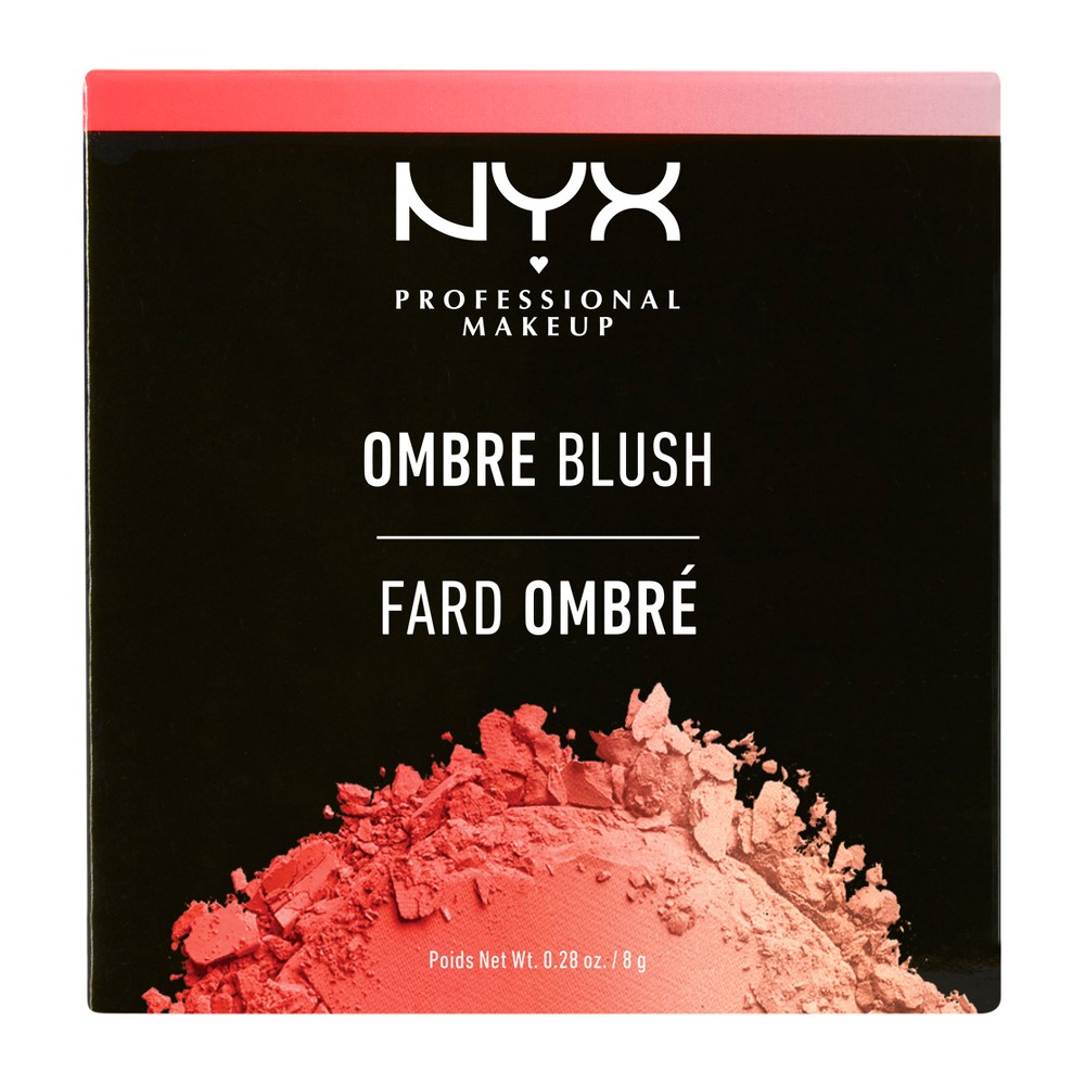 Nyx Professional Makeup Ombre Blush Soft Flush - 0.28oz
