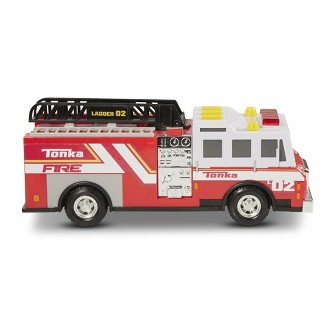 Tonka Mighty Fleet Fire Truck Rescue Vehicles