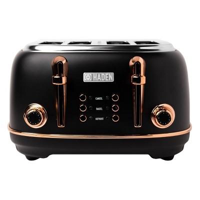 Heritage 4-Slice Toaster - Copper/Black