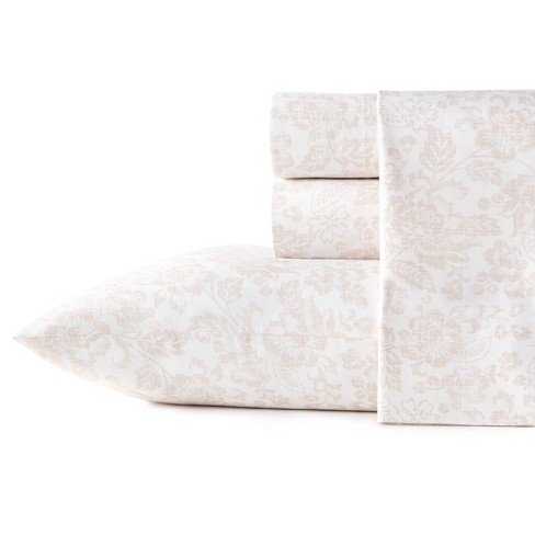 Printed Pattern Percale Cotton Sheet Set - Stone Cottage - image 1 of 3