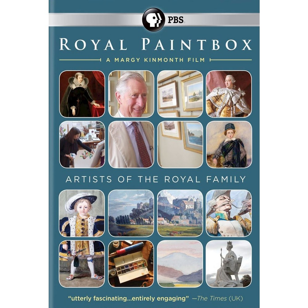 Royal Paintbox (Dvd), Movies
