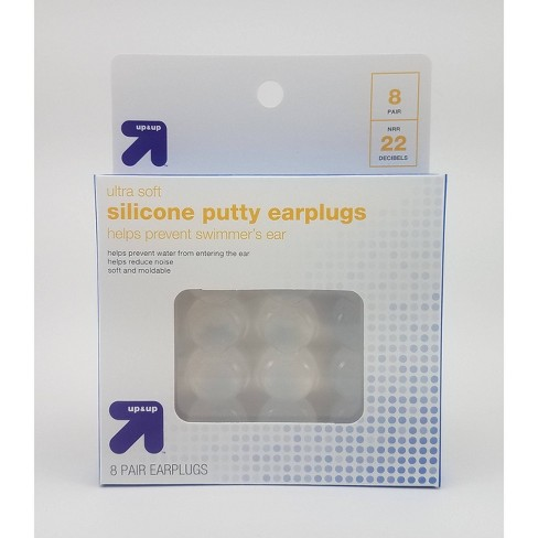 Ultra Soft Silicone Putty Earplugs 8 Pair Up Up Target