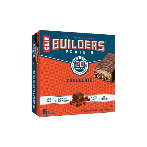 CLIF Builders Protein Bars - Chocolate - 20g Protein - image 1 of 4