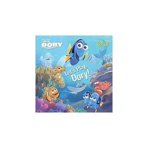 Let's Play, Dory! (Disney/Pixar Finding Dory) - (Pictureback(r)) by  Bonita Garr (Paperback) - image 1 of 1