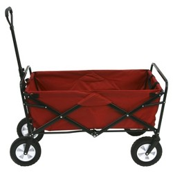 Mac Sports Folding Wagon - Red