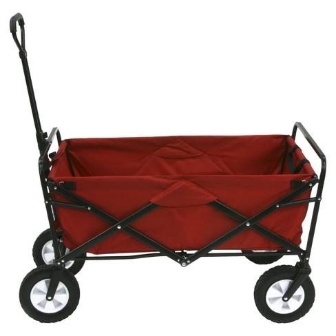 Mac Sports Folding Wagon - Red - image 1 of 4