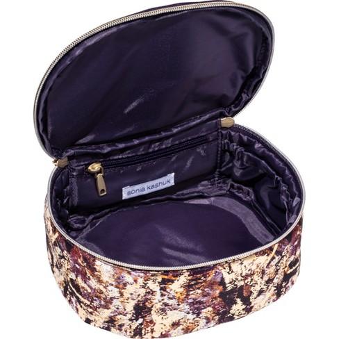 891433cd66 Sonia Kashuk™ Cosmetic Bag Saddle Bag Distress Floral With Foil   Target