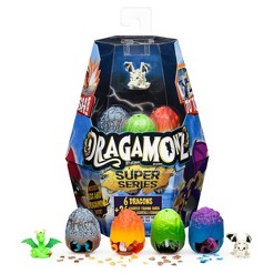 Dragamonz Super Series 2 Player Starter 6pk Collectible Figure and Trading Card Game (Styles May Vary)
