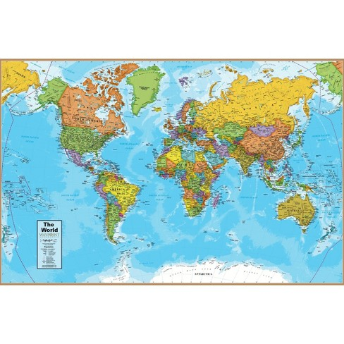 Round World Products World Map : Target on