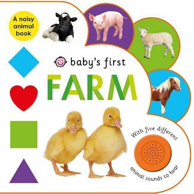 Baby's First: Farm - by Roger Priddy (Board_book)