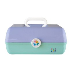 Caboodles On the Go Girl Makeup Bag - Lilac Over Mint
