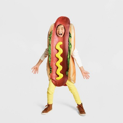 Kids' Hot Dog Halloween Costume Bodysuit One Size - Hyde & EEK! Boutique™