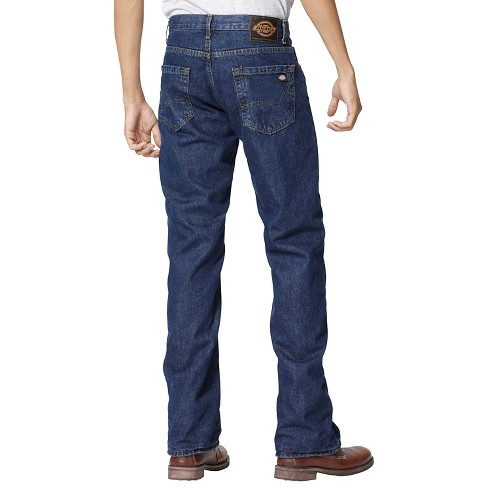 b2efc17c87d Dickies® - Men s Big   Tall Relaxed Straight Fit Denim Flannel-Lined  5-Pocket Jeans