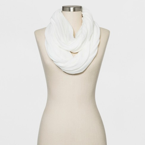 Collection XIIX Women's Loop Scarf - White - image 1 of 2