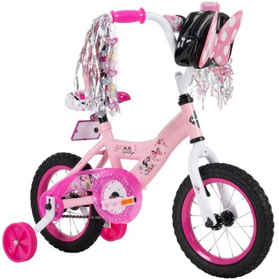 "Huffy Disney Minnie Mouse 12"" Kids' Bike - Pink"