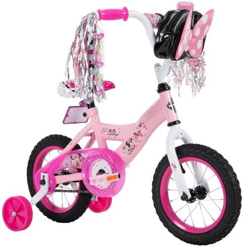 "Huffy Disney Minnie Mouse 12"" Kids' Bike - Pink - image 1 of 4"