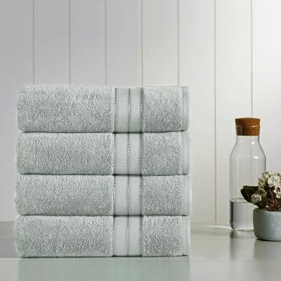 """Modern Threads Spunloft 4 Pack Bath Towel 30"""" x 54""""."""
