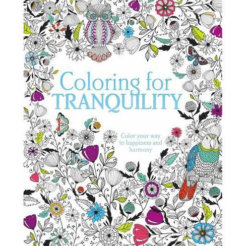 Coloring for Tranquility (Paperback) by Books Parragon - image 1 of 1