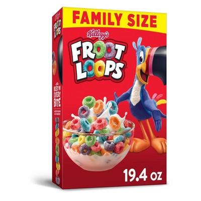 Froot Loops Breakfast Cereal - 19.4oz - Kellogg's