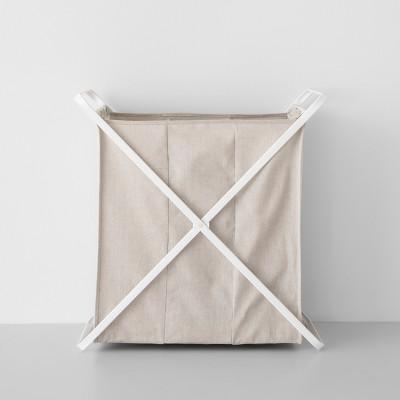 Folding X-Frame Hamper Triple Bin - - - - - - - - - - - - Made By Design™