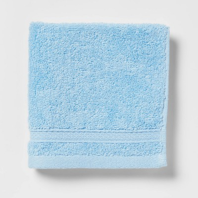 Soft Solid Washcloth Light Blue - Opalhouse™