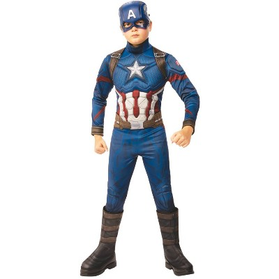 Kids' Captain America AV4 Deluxe Halloween Costume