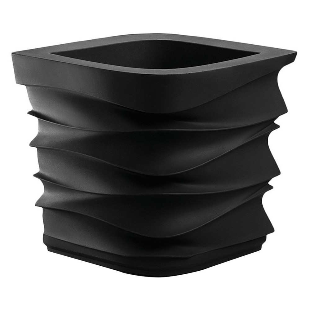 "Image of ""26"""" X 26"""" Square Eye Ain'T Planter - Black - Crescent Garden"""