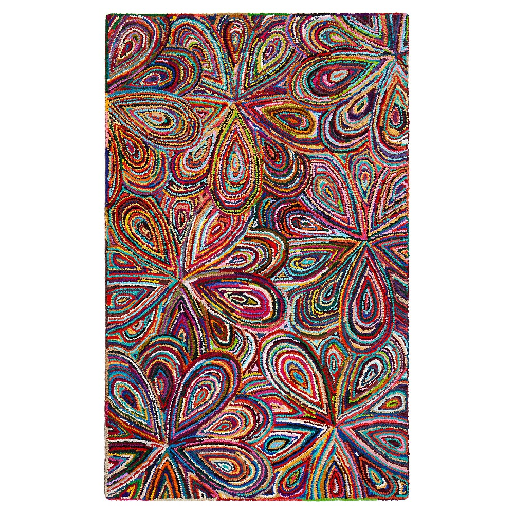 Fiora Area Rug (4'x6') - Anji Mountain, Multicolored