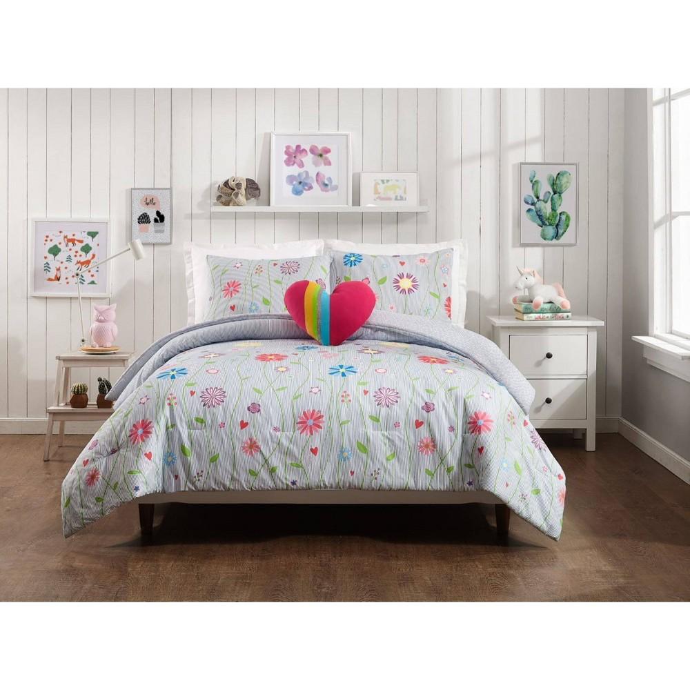 3pc Twin Growing Garden Comforter Set Jessica Simpson