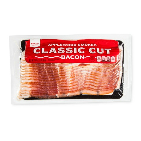 Applewood Smoked Classic Cut Bacon - 16oz - Market Pantry™ - image 1 of 1