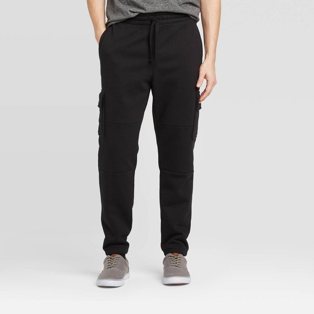 Men's Jogger Pants - Goodfellow & Co Black 2XL, Men's was $27.99 now $19.59 (30.0% off)