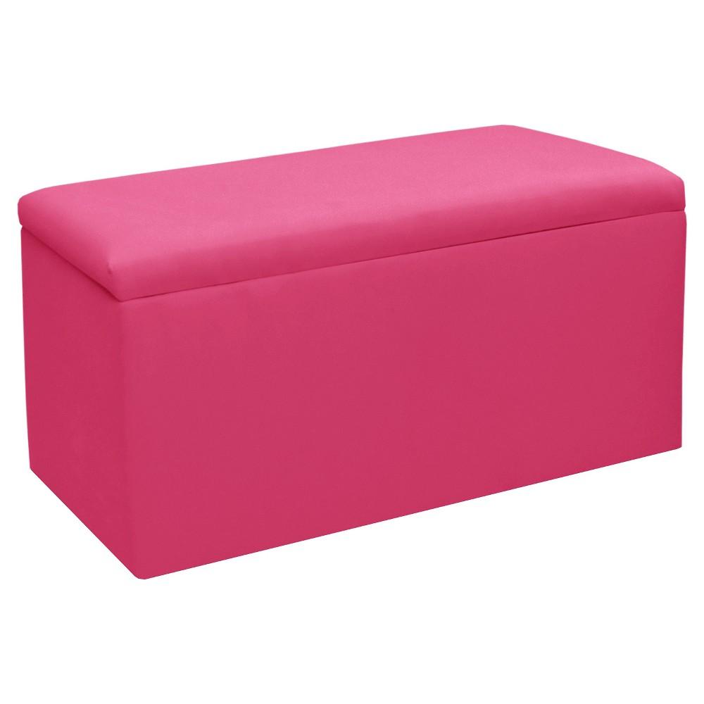 Image of Skyline Furniture Storage Bench - Duck French Pink - Skyline Furniture