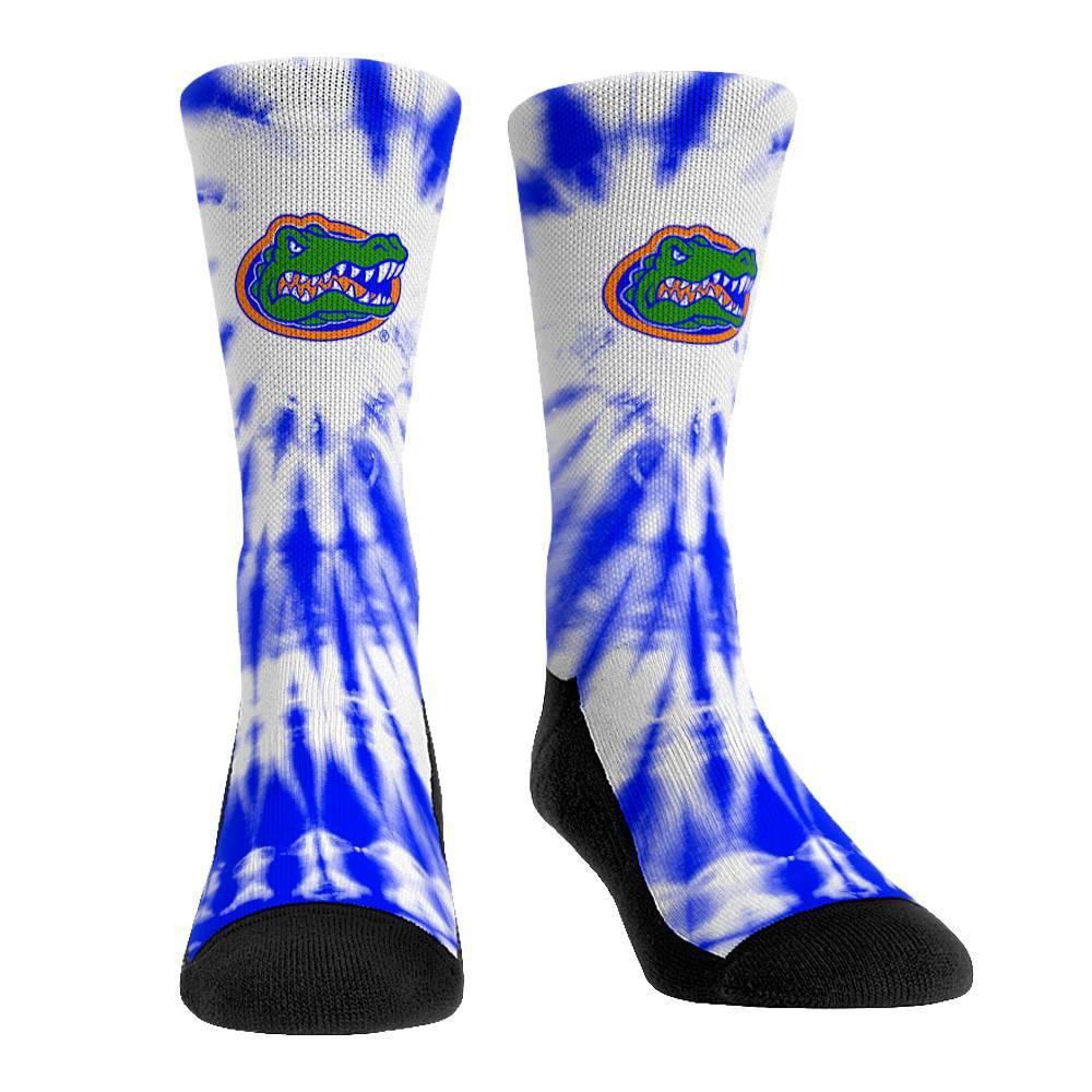 Ncaa Florida Gators Adult Tie Dye Socks L Xl