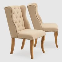 RST Brands Set of 2 Traditional Side Chairs (Beige)