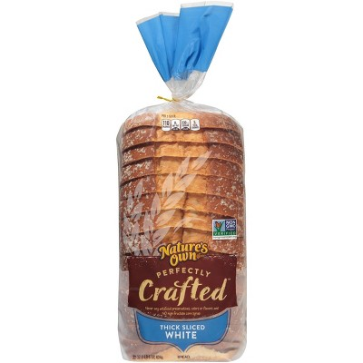Nature's Own Perfectly Crafted White Sandwich Bread - 22oz