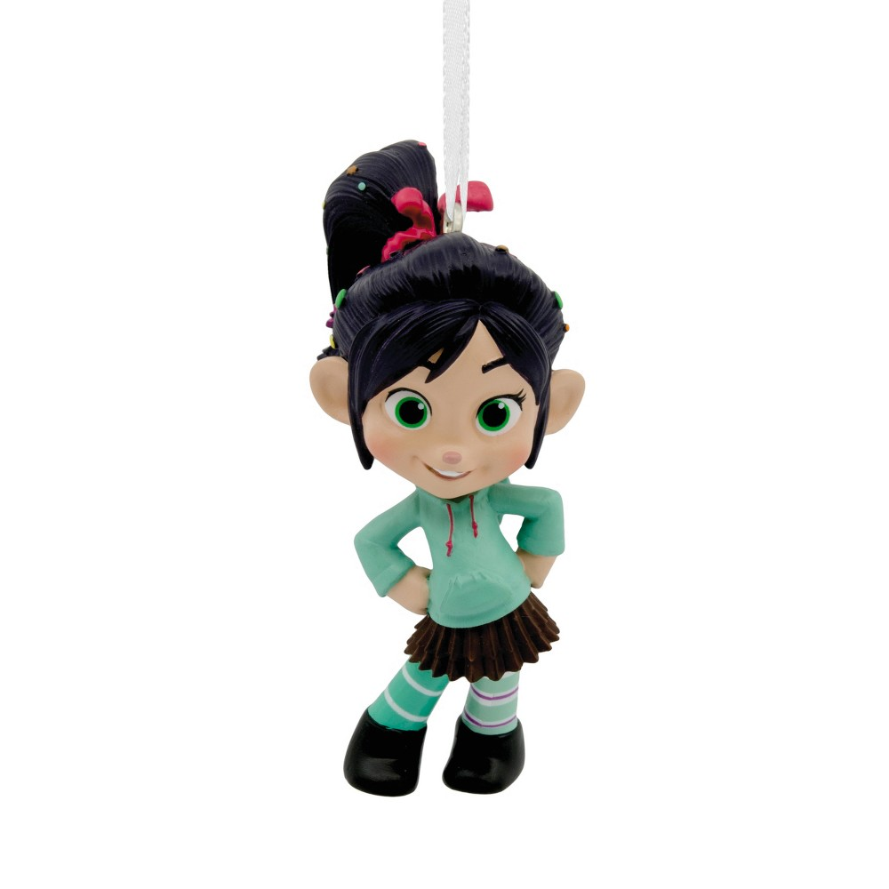Hallmark Wreck-It Ralph Vanellope Christmas Ornament, Multi-Colored
