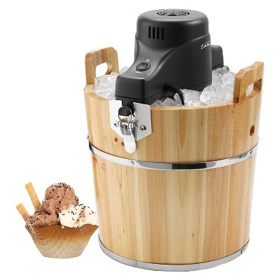 Sunbeam® 4 Qt. Wooden Bucket Ice Cream Maker - FRSBWDBK