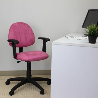 Microfiber Deluxe Posture Chair - Boss Office Products : Target