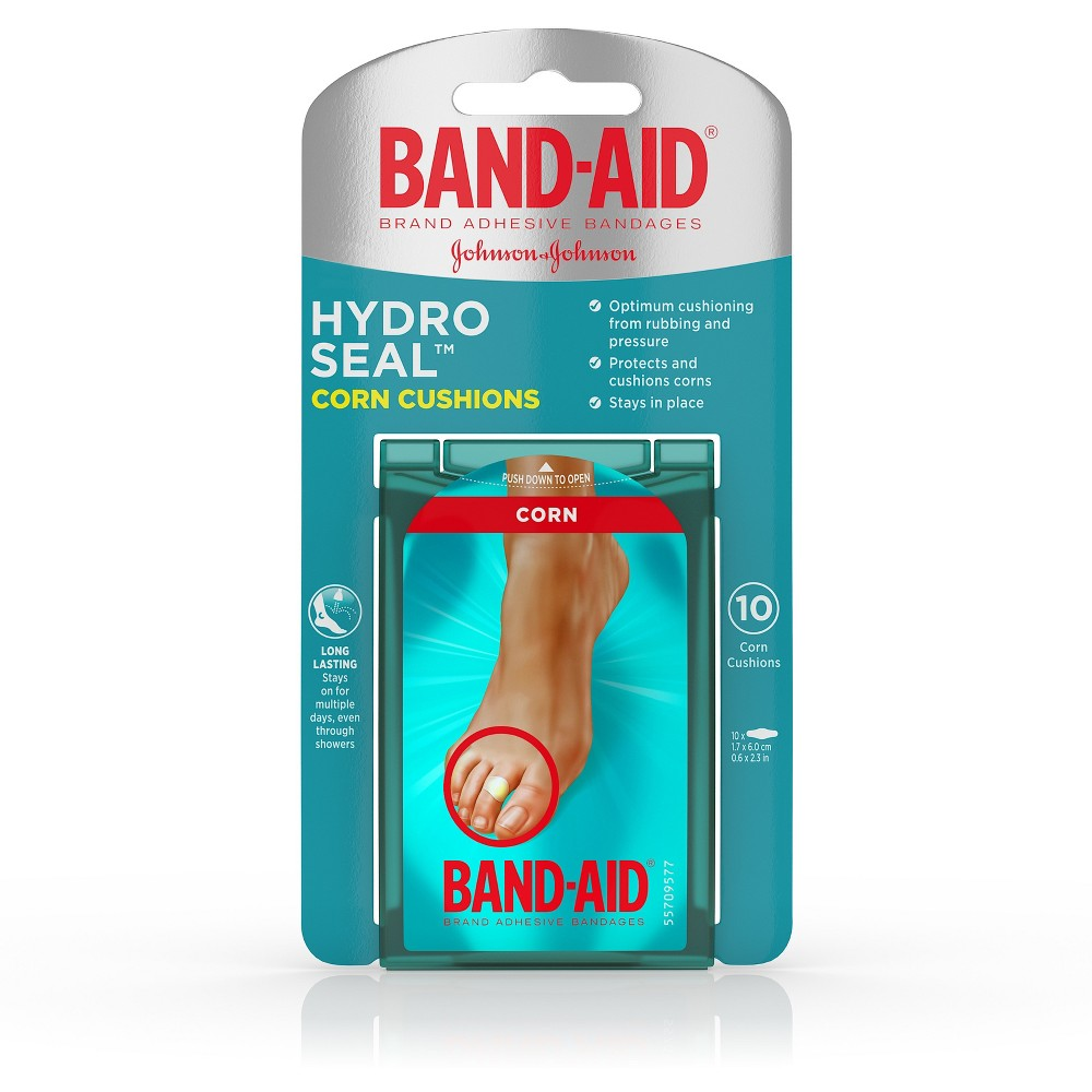 Bandages & Gauze: Band-Aid Hydro Seal Corn Cushions