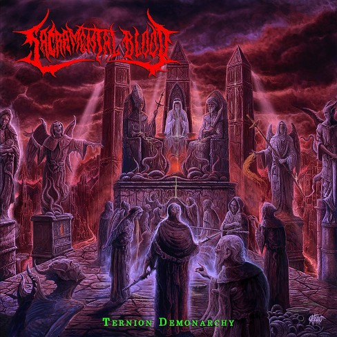 Sacramental blood - Ternion demonarchy (CD) - image 1 of 1