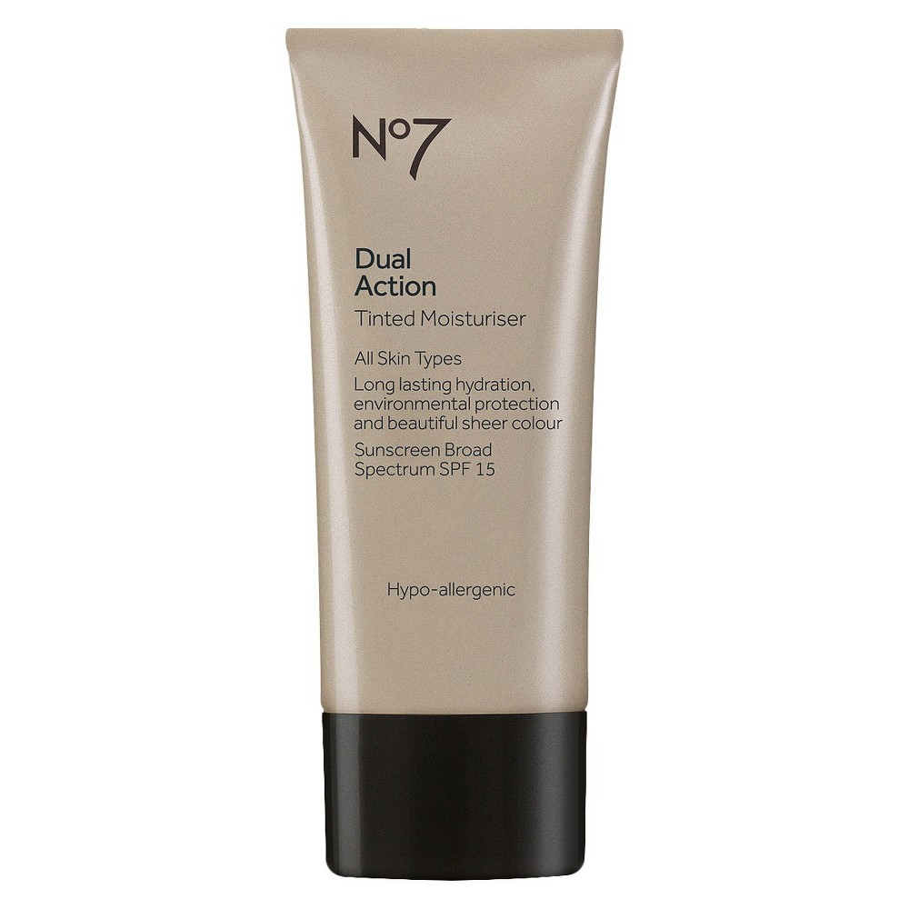 Image of No7 Dual Action Tinted Moisturiser SPF 15 Medium - 1.6oz