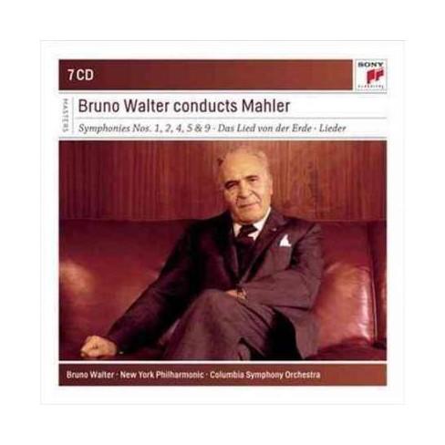 Columbia Symphony Orchestra  New York Philharmonic Mahler; Bruno Walter - Bruno Walter conducts Mahler - image 1 of 1
