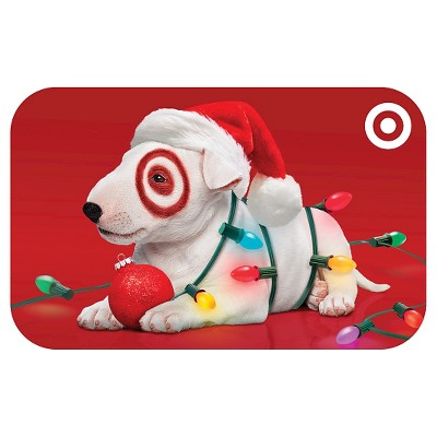 Puppy with Lights Gift Card $50