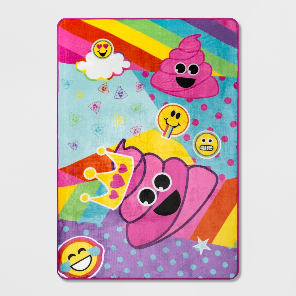 Image of emoji Full Microfiber Blanket