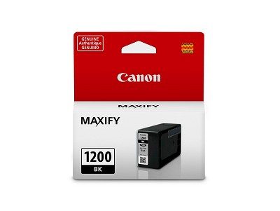 Canon 1200 Single & 3pk Ink Cartridges - Black, Multicolor
