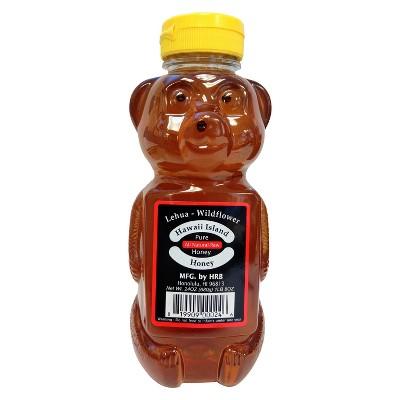 Hawaii Island Pure All Natural Raw Honey - 24oz